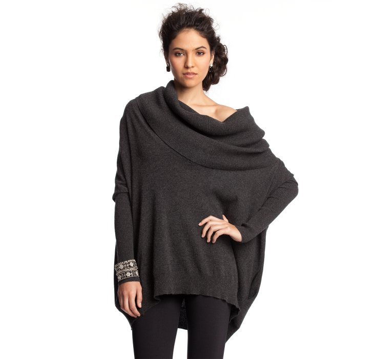Autumn cashmere Pepper Cashmere Oversized Cowl Neck Sweater in ...