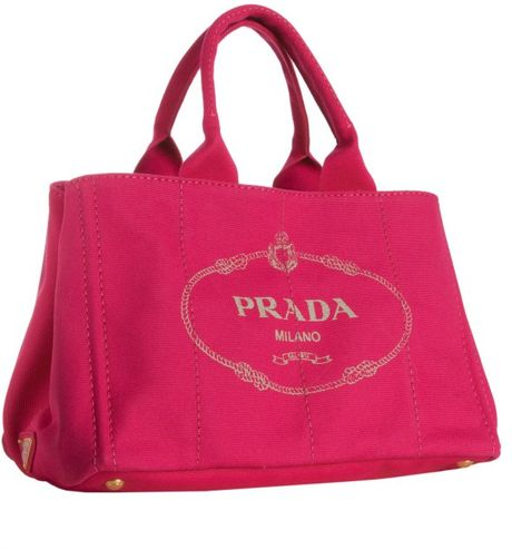 11058bcada99 Prada Red Logo Canvas Tote Bags | Stanford Center for Opportunity ...