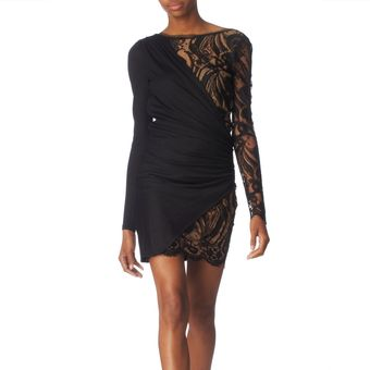 Pucci Lace Side Dress - Lyst