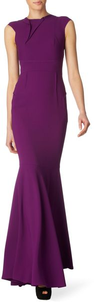 RM By Roland Mouret Copperfield Gown - Lyst
