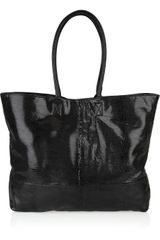Thomas Wylde Snakeskin-effect Leather Tote - Lyst