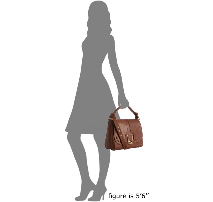 77e258beb419 fendi bags online shopping - Fendi Brown Leather Anna Small Shoulder Bag in  Brown