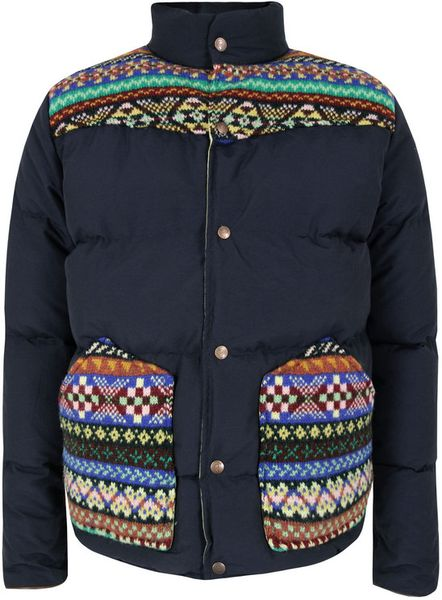 Penfield X Jamiesons Gillman Navy Jacket in Blue for Men (navy) - Lyst