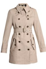 Burberry Brit Bentham Cotton Trench Coat - Lyst