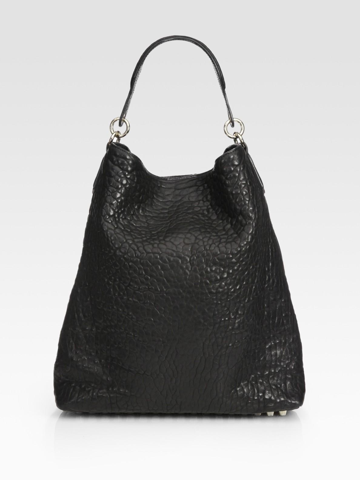 Alexander wang Darcy Hobo Bag in Black | Lyst