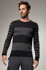 Dolce & Gabbana Striped Sweater - Lyst