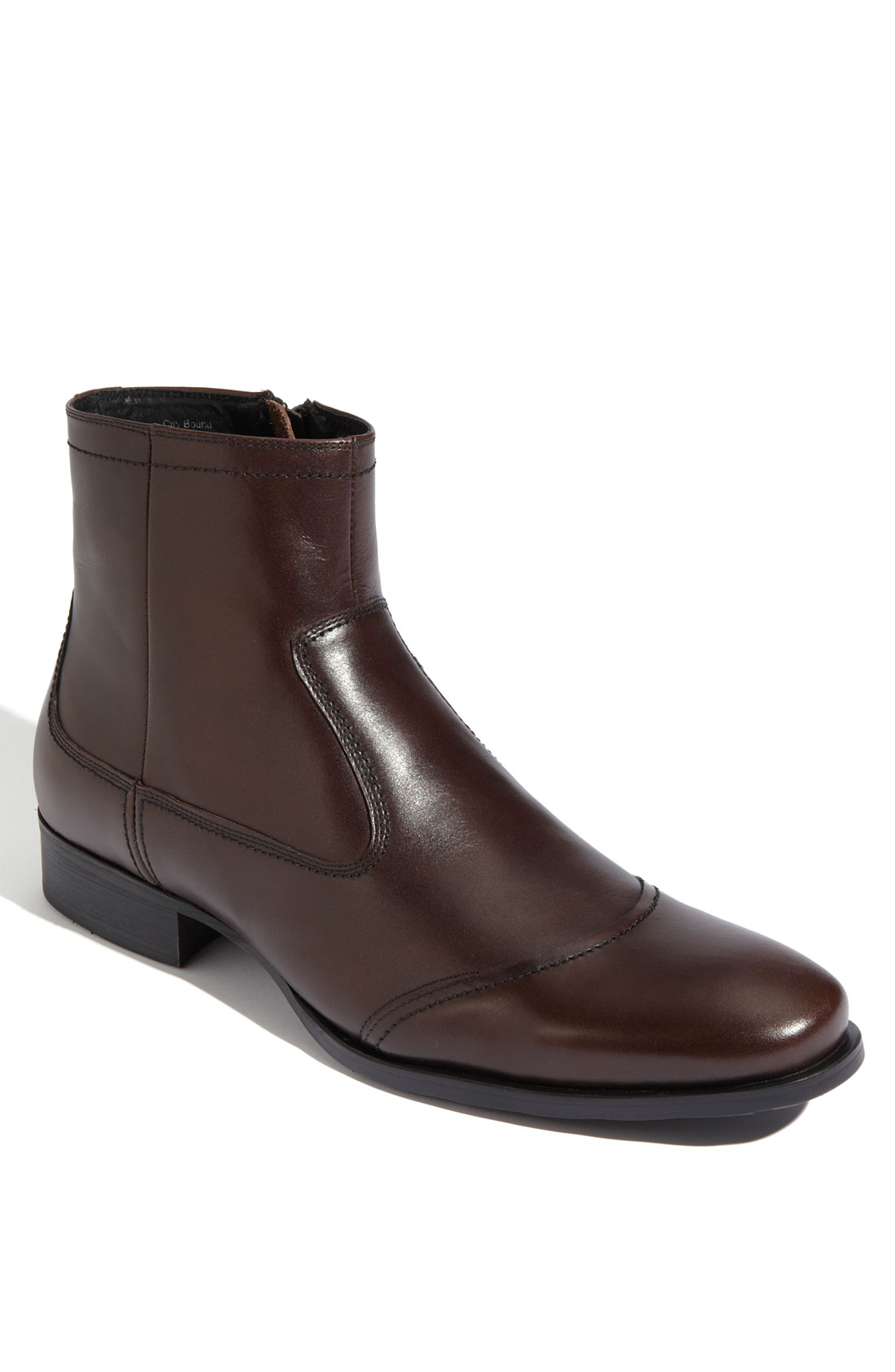 kenneth cole city bound boot in brown for lyst