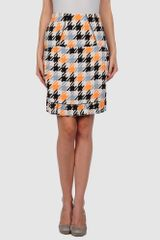 Marni Knee Length Skirts - Lyst