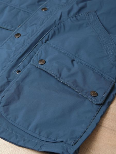 Nonnative Mens Gore Tex Paclite Hiker Jacket In Blue For