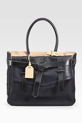 Reed Krakoff Boxer 1 Denim & Leather Bag - Lyst