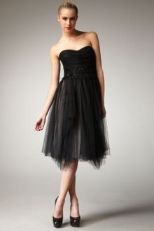 Robert Rodriguez Black Label Paula Embellished Strapless Dress - Lyst
