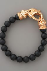 Stephen Webster Onyx Bead Bracelet - Lyst