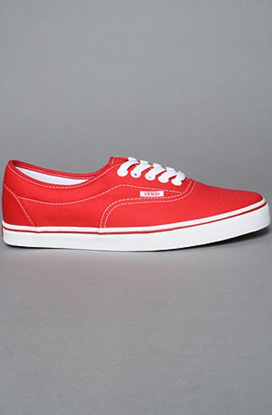Vans The Lpe Sneaker in Red in Red for Men - Lyst