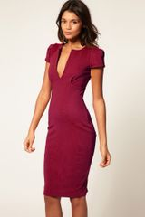 ASOS Collection Asos Ponti Pencil Dress with Pockets - Lyst