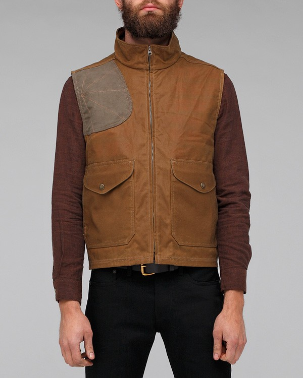 Lyst Filson Eastlake Waxed Vest In Brown For Men