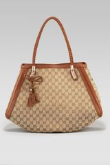 Gucci Bella Medium Double-handle Shoulder Bag - Lyst