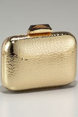 Kotur Morley Croc-embossed Box Clutch - Lyst