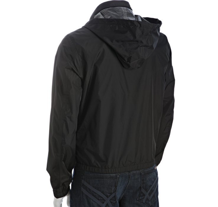 Lyst Prada Sport Black Nylon Windbreaker Jacket In Black