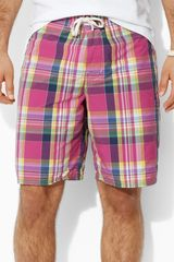 Polo Ralph Lauren Plaid Swim Shorts - Lyst