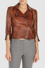 Costume National Leather Outerwear - Lyst