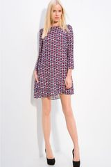 Elizabeth And James Mod Dot Print Tunic - Lyst