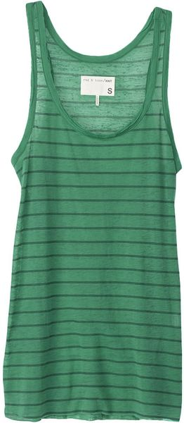 Rag & Bone Scoop Neck Tank - Lyst