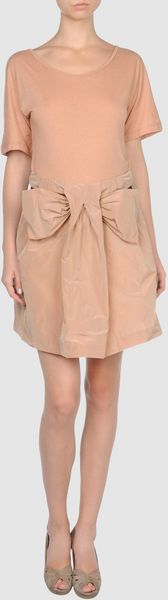 See By Chloé Short Dress in Pink - Lyst