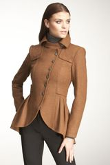 Nanette Lepore Angelic Draped Wool Jacket - Lyst