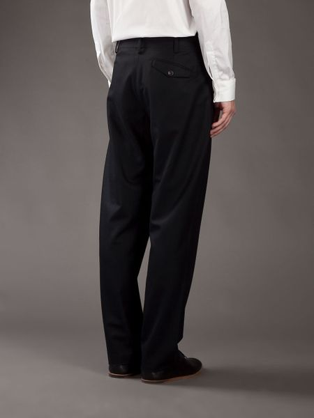 High Waisted Trouser in