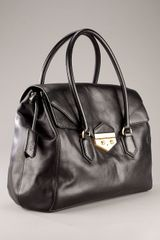 Givenchy Fold Over Front Bag in Black - Lyst