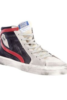 Golden Goose Deluxe Brand Suede High-top Sneaker - Lyst