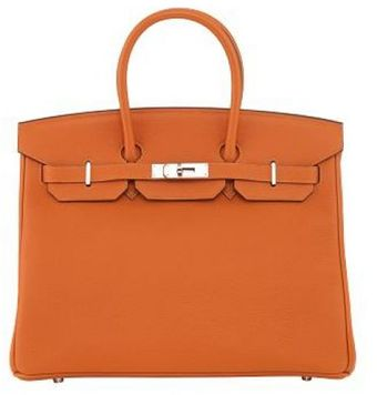 Hermes Orange Togo Birkin - Lyst