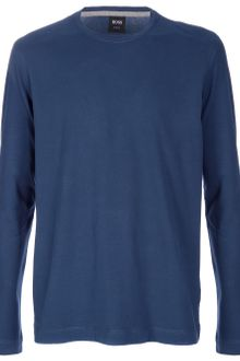 Hugo Boss Crew Neck Jumper - Lyst