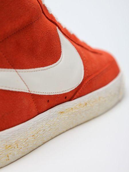 Nike Blazer Mid Premium Vintage Dark Cooper Sail in Orange for Men