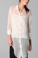 Rag & Bone Nightingale Shirt - Lyst