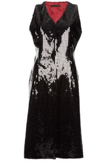 Alexander Mcqueen Archive Sleeveless Sequined Jacket - Lyst