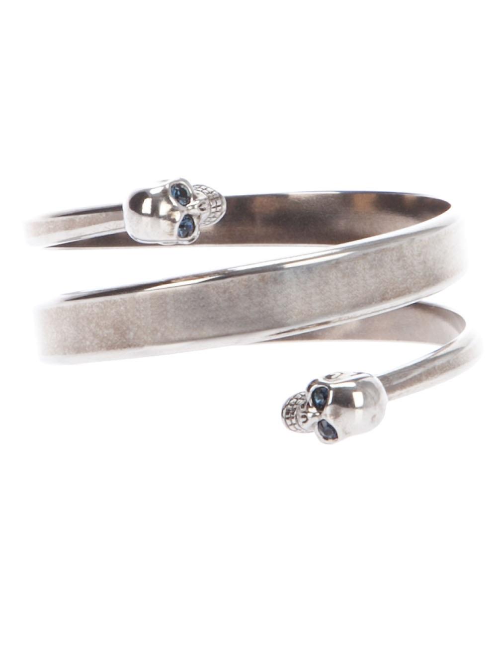 twin skull bracelet - Metallic Alexander McQueen Xn1dR
