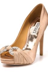 Badgley Mischka Pumps - Janni Peep Toe - Lyst