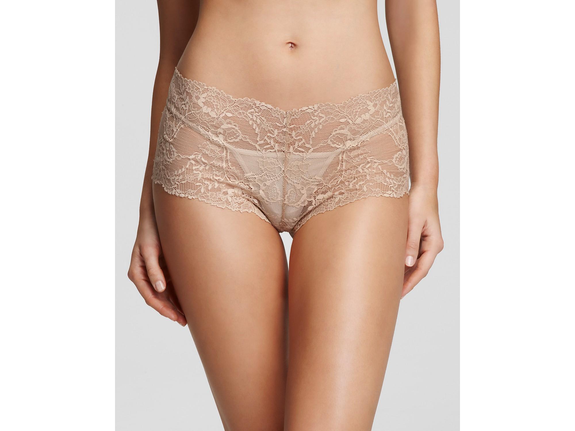 Calvin klein Underwear Hipster All Lace in Natural   Lyst