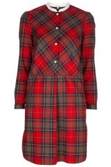 Carven Tartan Dress
