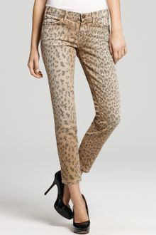 Current/Elliott The Stiletto Leopard Print Pants - Lyst