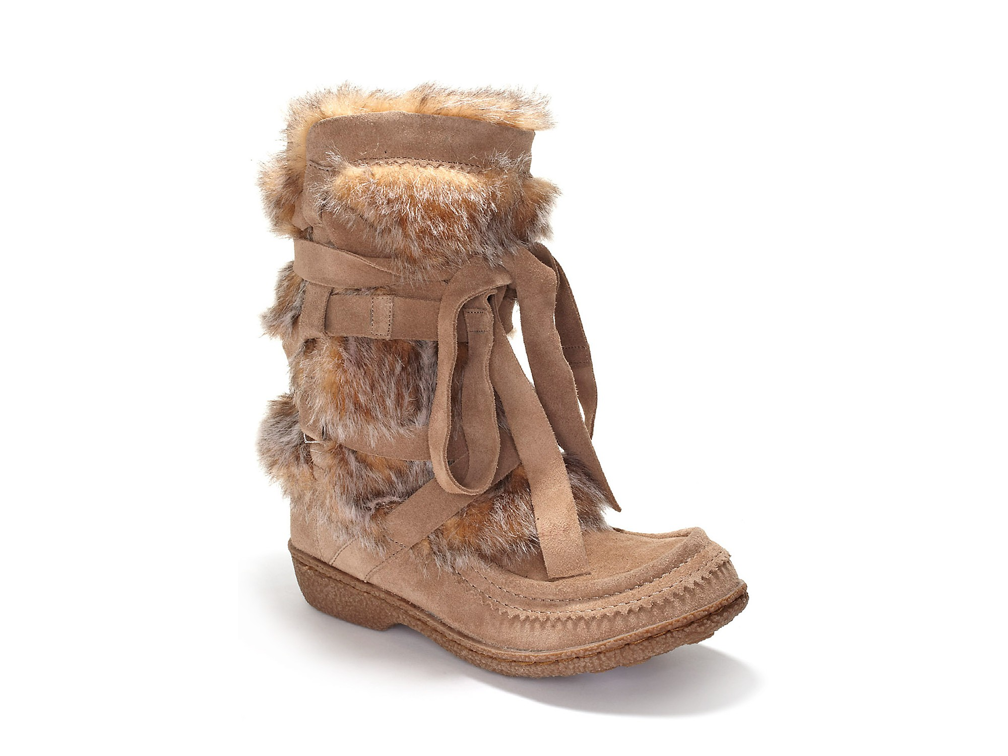 eb12c0048a1dc Lyst - Sam Edelman Sam Edelman Meiko Weather Boots in Natural