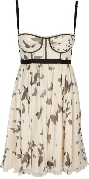 D&G Printed Silk Dress - Lyst