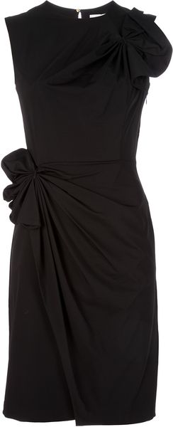 Diane Von Furstenberg Sleeveless Dress in Black - Lyst