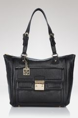 DKNY Large Vintage Leather Tote - Lyst