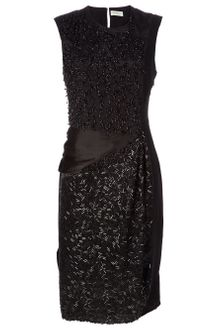 Dries Van Noten Beaded Dress - Lyst