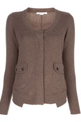 Duffy Knit Cardigan - Lyst