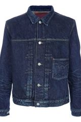 Edwin Vintage Denim Jacket in Blue for Men (denim) - Lyst