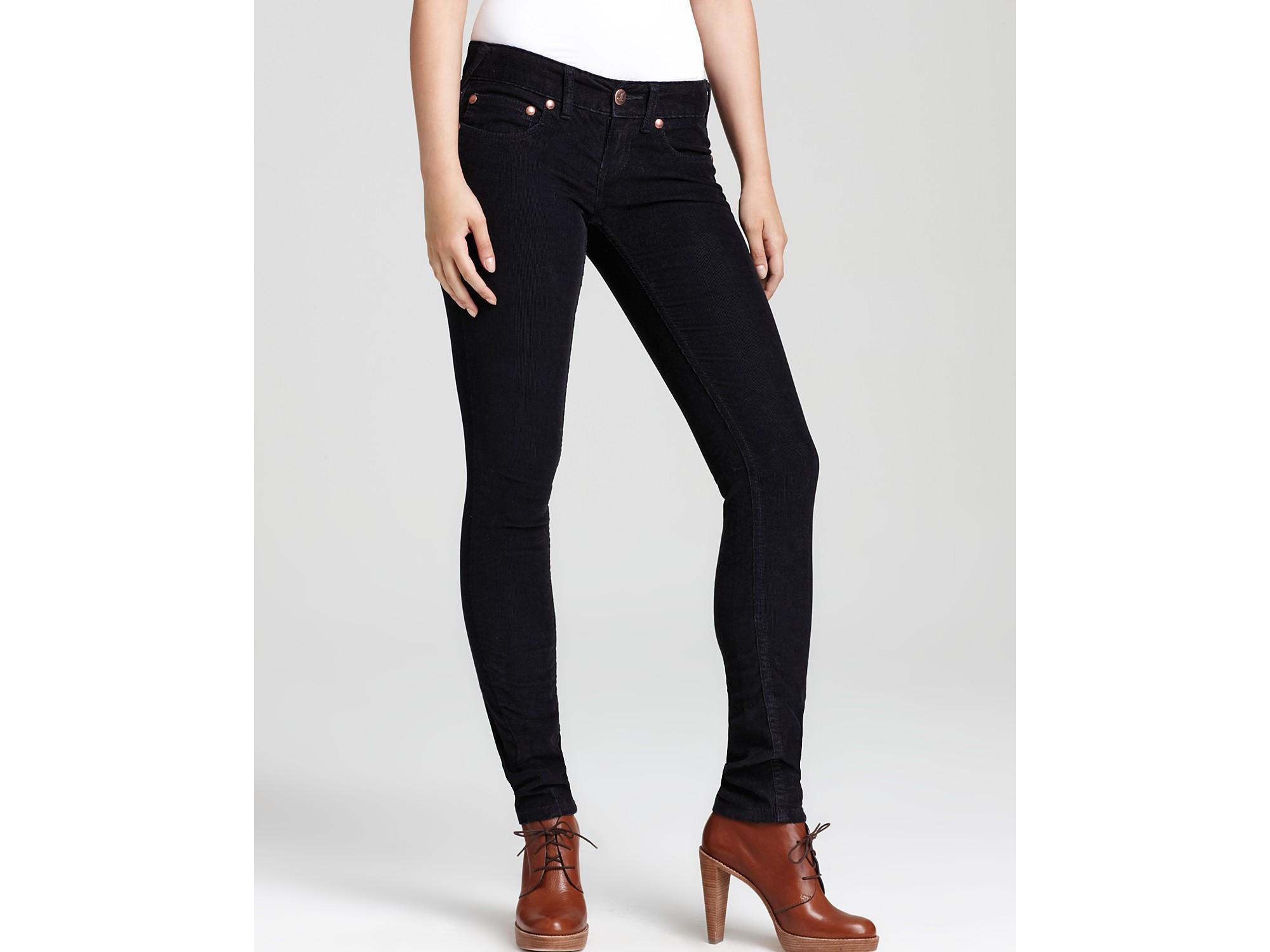 Popular  Skinny Corduroy Black 14 Medium At Amazon Womens Clothing Store