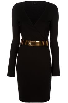 Gucci Wrap Dress - Lyst